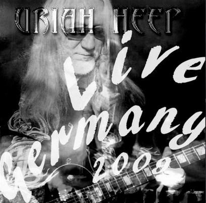コレクターズCD URIAH HEEP(ユーライア・ヒープ2009年ヨーロッパツアー Germany)