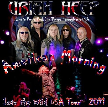 コレクターズCD Uriah Heep(ユーライア・ヒープ2011年アメリカ公演)2011.06.24 Pennsylvania