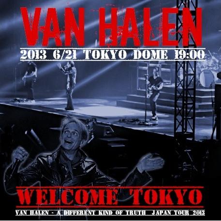 コレクターズCD ヴァン・ヘイレン 2013年日本公演