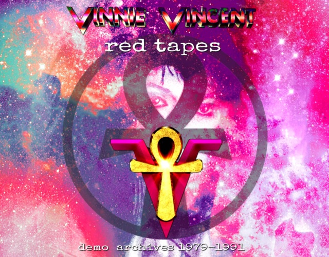 コレクターズCD Vinnie Vincent  - red tapes (Demo 1979-1991)
