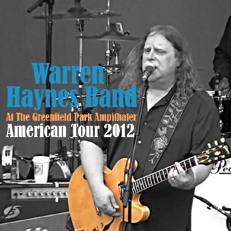 コレクターズCD Warren Haynes band(ウォーレン・ヘインズ)2012年アメリカツアー