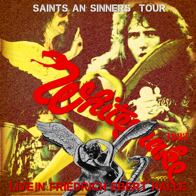 コレクターズCD Whitesnake - Saints An' Sinners Tour 1983