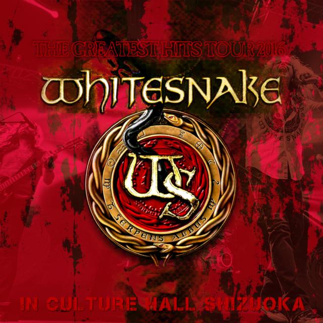 コレクターズCD Whitesnake - The Greatest Hits Japan Tour 2016