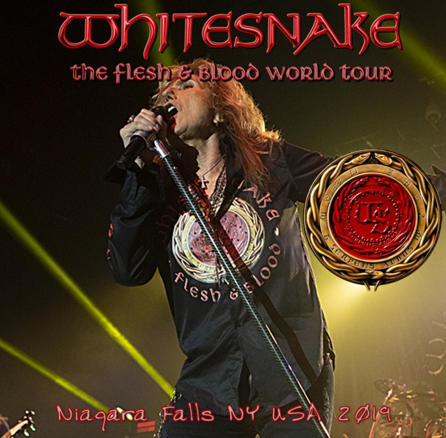 コレクターズCD Whitesnake - Flesh & Blood World Tour 2019