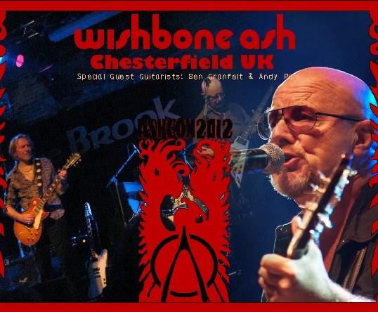 コレクターズCD ウイッシュボーン・アッシュ(Wishbone Ash - AshCon 2012)