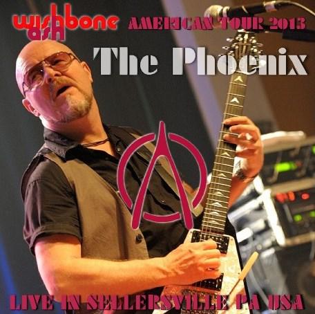 コレクターズCD ウィッシュボーン・アッシュ(Wishbone Ash)2013年アメリカツアー