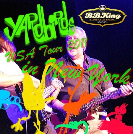 コレクターズCD ヤードバーズ(The Yardbirds) 2011年アメリカツアー