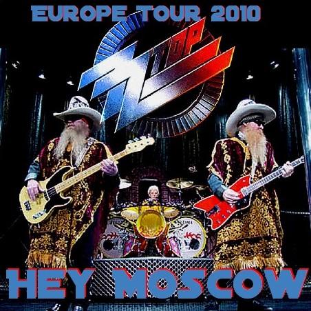 コレクターズCD ZZ Top(ZZ・トップ 2010年 ヨーロッパツアーMoscow / Russia)Crocus City Hall