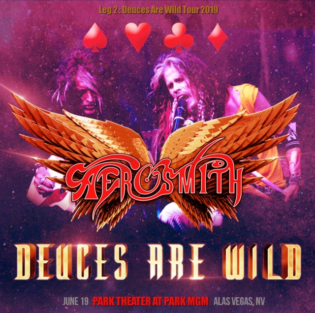 コレクターズCD Aerosmith - Deuces Are Wild Tour 2019