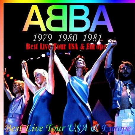 コレクターズCD ABBA(アバ) Best Live Tour USA & Europe