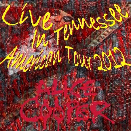 コレクターズCD Alice Cooper(アリス・クーパー)2012年アメリカンツアー