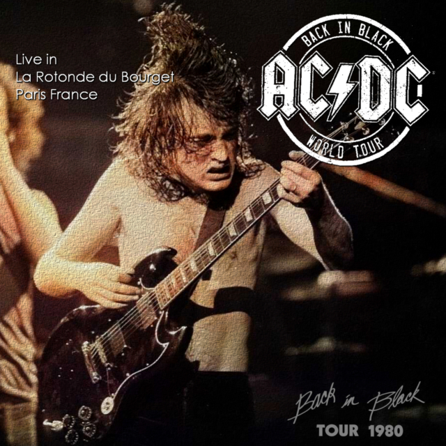 コレクターズCD AC/DC - Back In Black European tour 1980