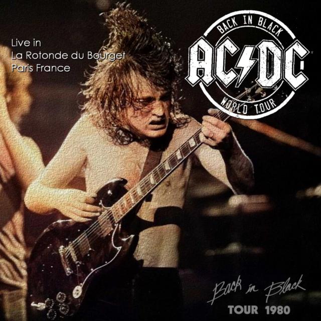 コレクターズCD AC/DC - Back In Black European tour 1980