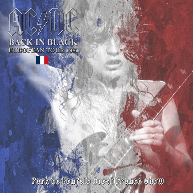 コレクターズCD AC/DC - Back In Black European Tour 1981