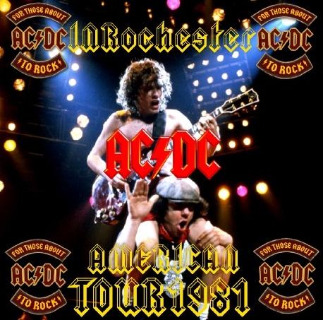 コレクターズCD AC/DC(エーシー・ディーシー)1981年アメリカツアー