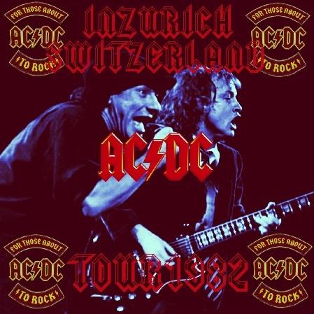 コレクターズCD AC/DC(エーシー・ディーシー)1982年ヨーロッパツアー