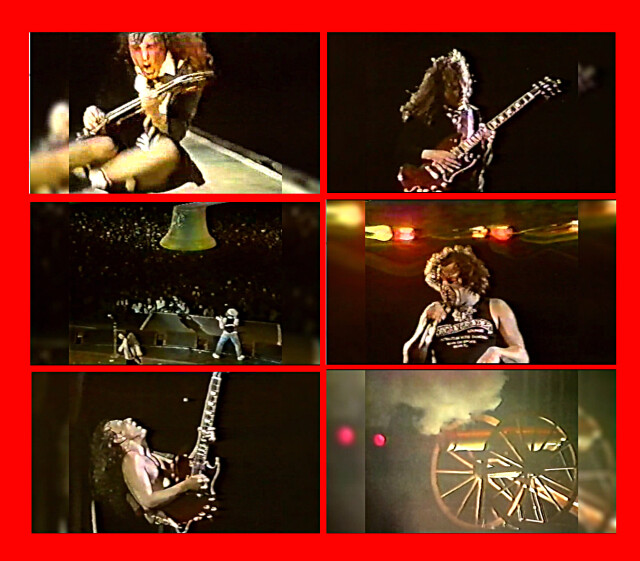 コレクターズDVD - AC/DC - Flick of the Switch Tour 1985