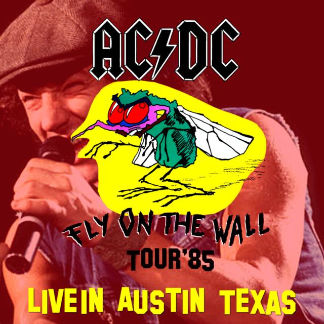 コレクターズCD AC/DC - Fly On The Wall Tour 1985