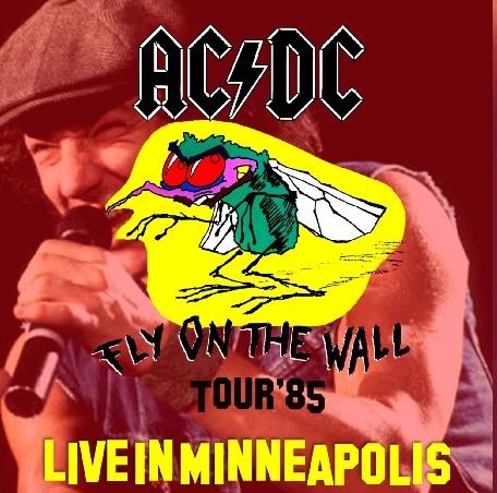 コレクターズCD AC/DC(エーシー・ディーシー)1985年アメリカツアー