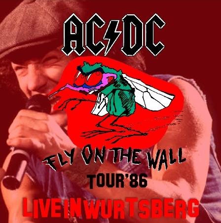 コレクターズCD AC/DC(エーシー・ディーシー)1986年ヨーロッパツアー