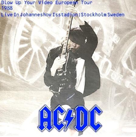 コレクターズCD AC/DC(エーシー・ディーシー)1988年ヨーロッパツアー