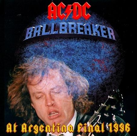 コレクターズCD AC/DC(エーシー・ディーシー)1996年南米公演 Ballbreaker South American Tour