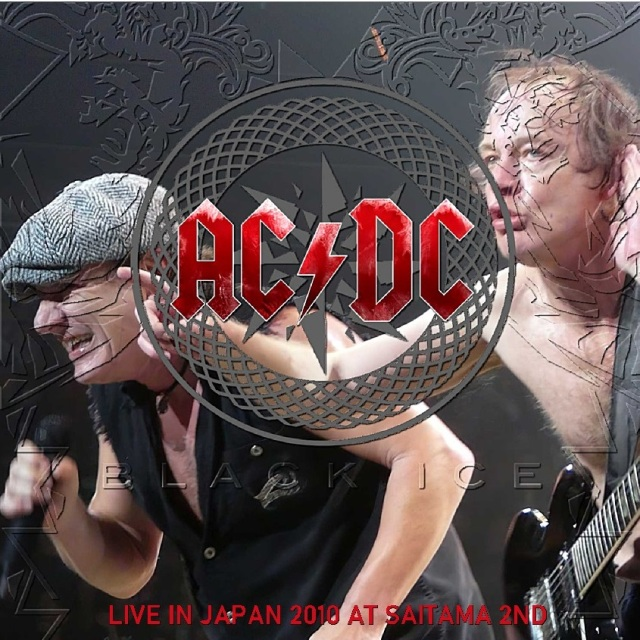 コレクターズCD AC/DC - Black Ice Japan Tour 2010
