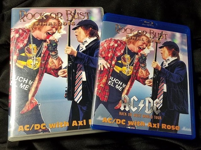 コレクターズBlu-ray  AC/DC - Rock or Bust World Tour 2016