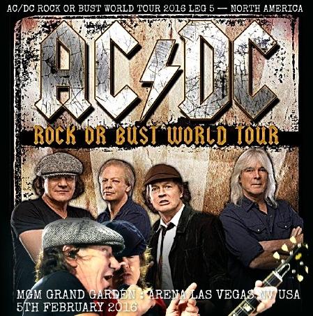 コレクターズCD AC/DC(エーシー・ディーシー)2016年アメリカツアー