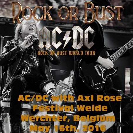 コレクターズCD AC/DC(エーシー・ディーシー)2016年ワールドツアー