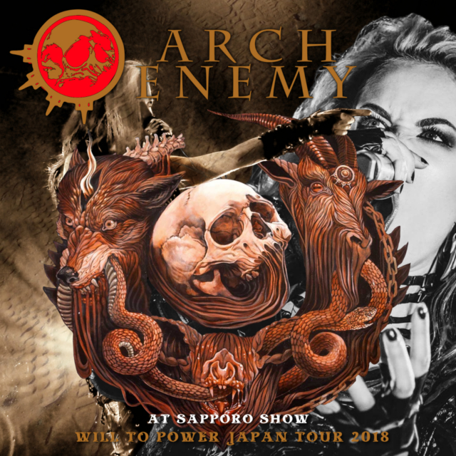 コレクターズCD Arch Enemy  - Will to Power Japan Tour 2018