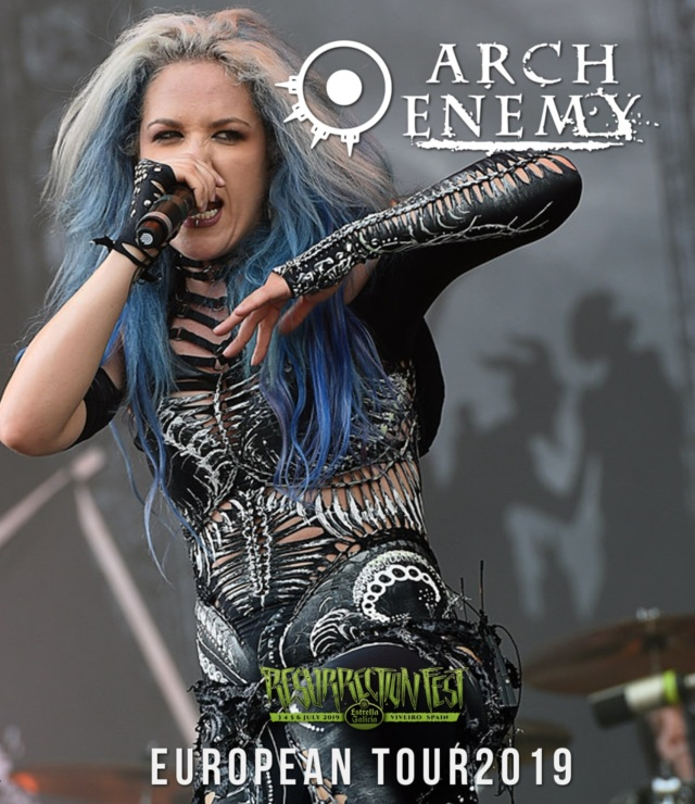 コレクターズBlu-ray Arch Enemy - Will To Power European Tour2019