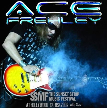 コレクターズCDエース・フレーリー(Ace Frehley)2009年アメリカツアー