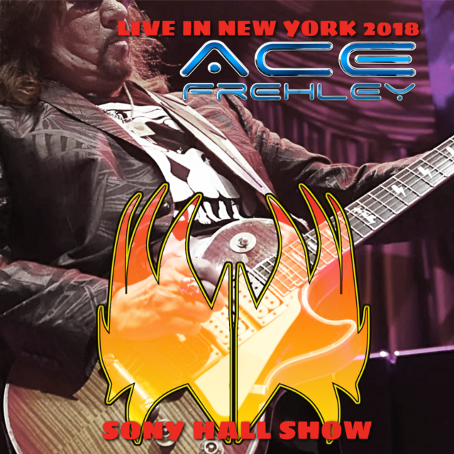 コレクターズCD Ace Frehley - In NYC 2018
