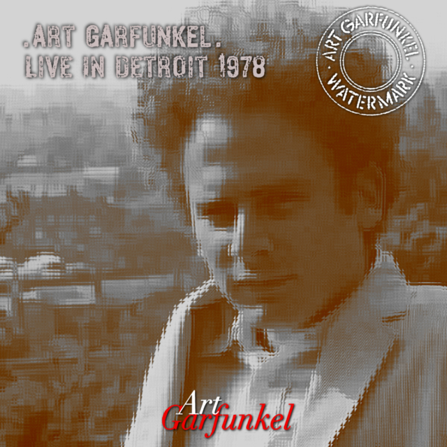 コレクターズCD Art Garfunkel - Watermark American Tour 1978