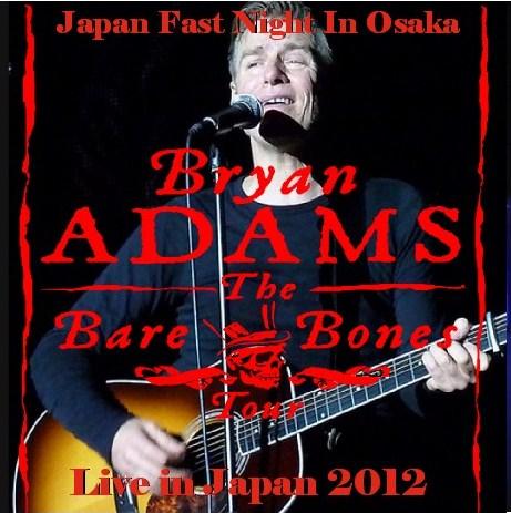 コレクターズCD ブライアン・アダムス(Bryan Adams) 2012年 日本公演