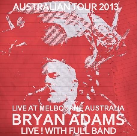 コレクターズCD ブライアン・アダムス 2013年 オーストラリアツアー