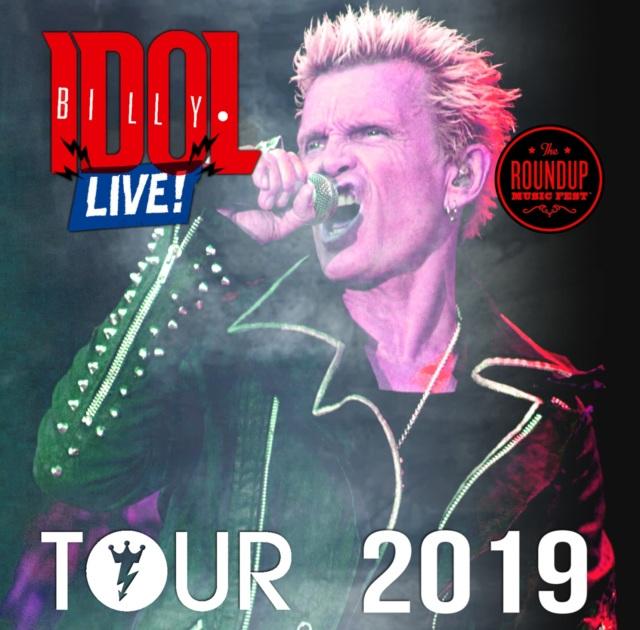 コレクターズCD Billy Idol - North American Tour 2019
