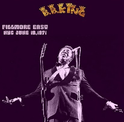BBキング71年  Filmore East early&late show