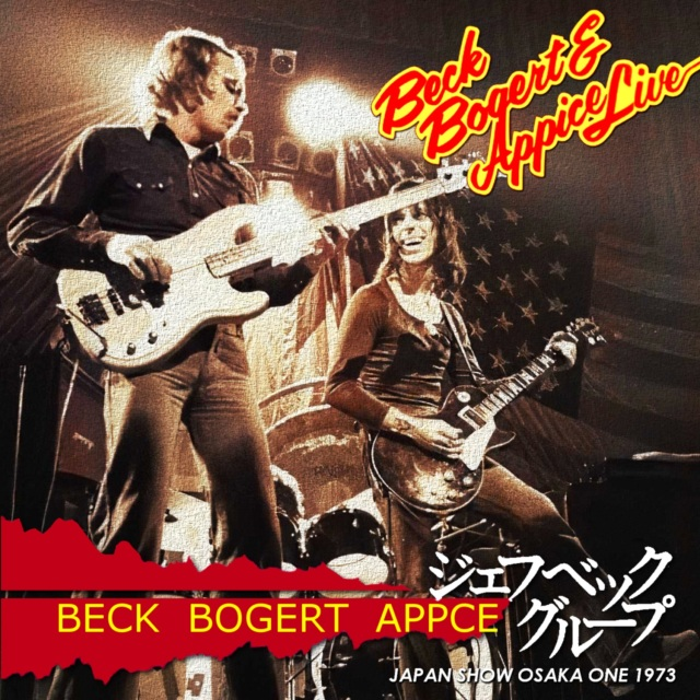 コレクターズCD Beck Bogert & Appice - Japan Tour 1973