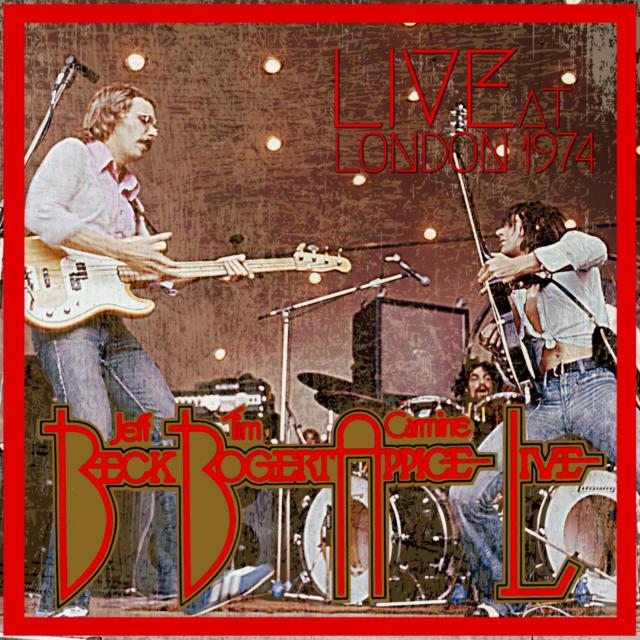 コレクターズCD Beck Bogert & Appice - European Tour 1974