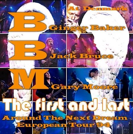 コレクターズCD BBM(Baker-Bruce-Moore) 1994年ヨーロッパツアー