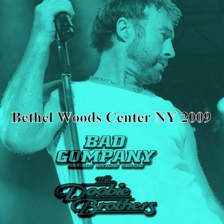 Bad Company(バッド・カンパニーw/Doobie Brothers 北米Tour 2009 /  Bethel Woods Center For The Arts Bethel, NY 2009.6.27