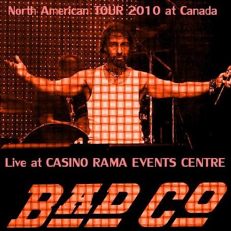 コレクターズCD Bad Company(バッド・カンパニー2010年北米ツアー)Ontario (Toronto), Canada 2010.8.4