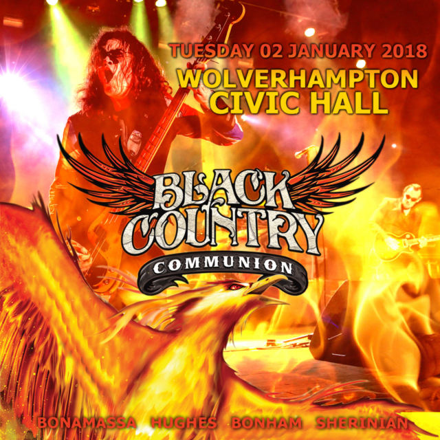 コレクターズCD Black Country Communion - Wolverhampton 2018