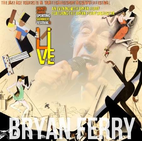 コレクターズCD  ブライアン・フェリー(Bryan Ferry)2013年ヨーロッパツアー(The Jazz Age Tour 2013)
