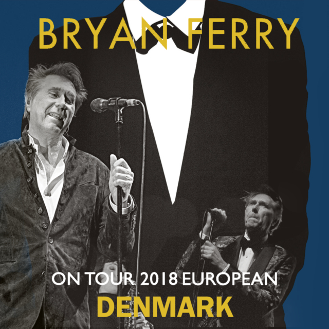 コレクターズCD Bryan Ferry - European Tour 2018