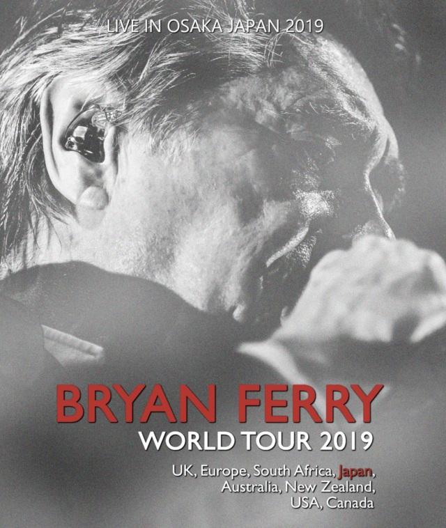 コレクターズBlu-ray  Bryan Ferry - Japan Tour 2019