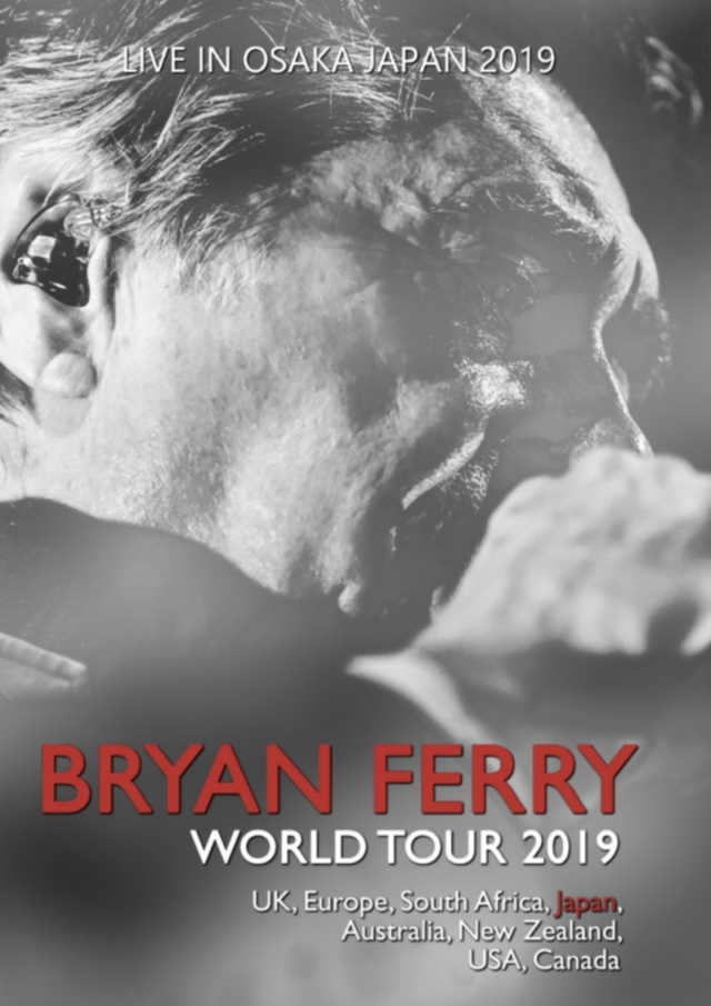 コレクターズDVD  Bryan Ferry - Japan Tour 2019