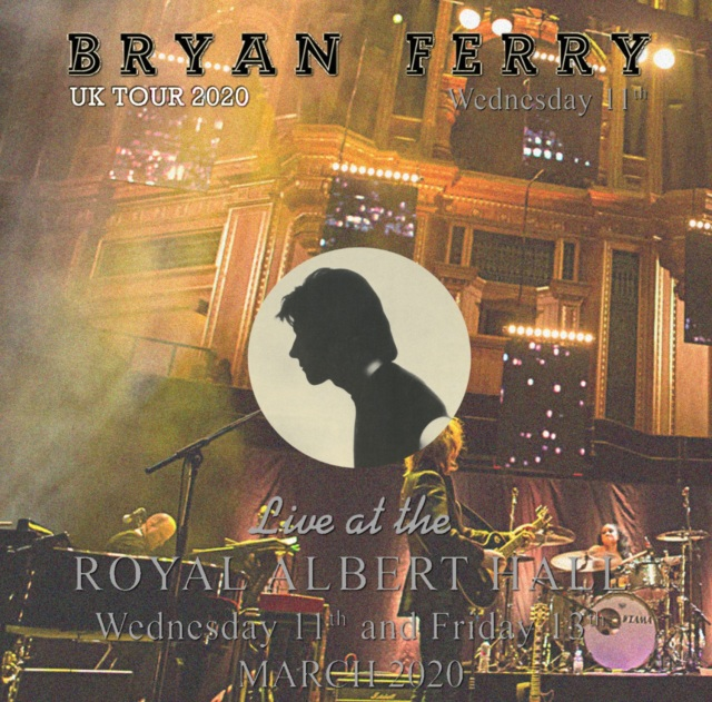 コレクターズCD Bryan Ferry - Uk Tour 2020